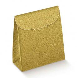 Коробка золотая, сумочка, арт.33565