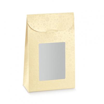 Коробка жемчужно-кремовая, сумочка, арт.37803
