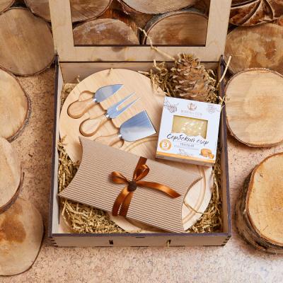 Сырный набор в подарок «Сырное плато»