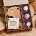 Подарочный набор с сыром «Сырный гурман»