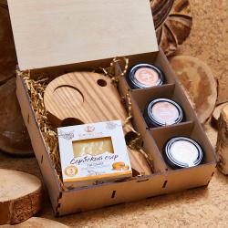 «Сырная гурманка» - подарочный набор