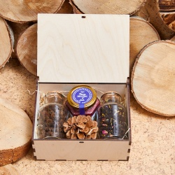 «Чай с шишками» - подарочный набор