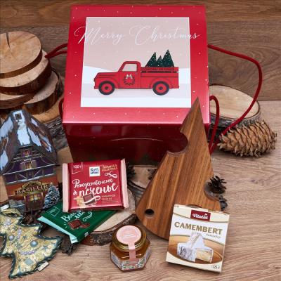 Подарочный сыр «Новогодняя доставка»
