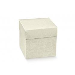 Коробка белая, кубик, арт.14488