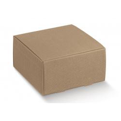 Коробка крафт, кубик, арт.35272