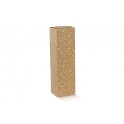 Коробка крафт, на 1 бутылку, арт.36544