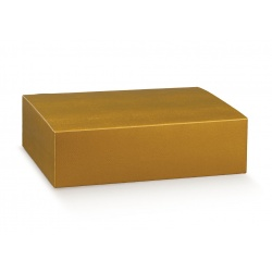 Коробка золотая, на 3 бутылки, арт.38457