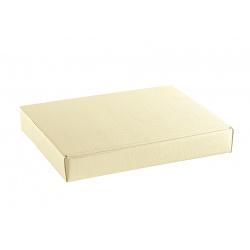 Коробка бежевая, плоская, арт.13277