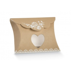 Коробка крафт, подушка, арт.17212С