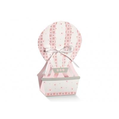 Коробка розовая, бонбоньерка , арт.17531С