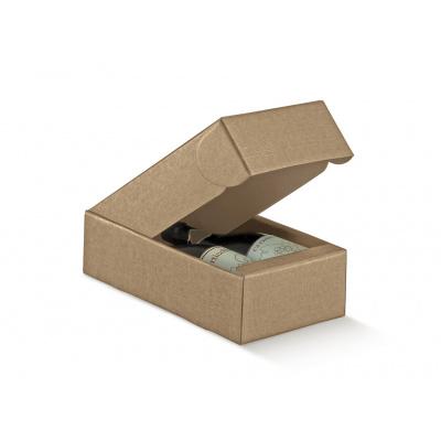 Коробка золотая, на 2 бутылки, арт.30581