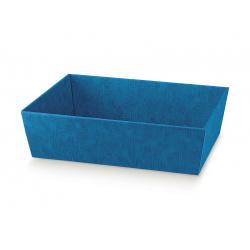Коробка светло-синяя, лукошко, арт.34261