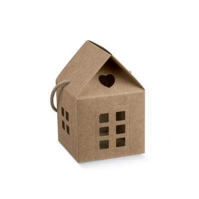 Коробка крафт, домик, арт.37229