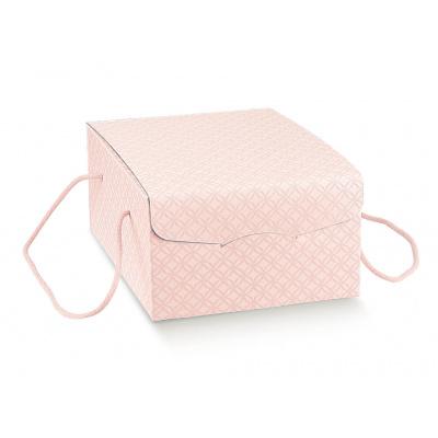 Коробка розовая, сундук, арт.37516