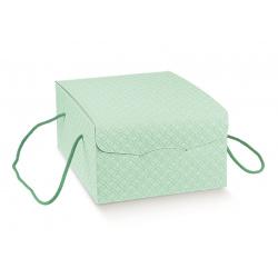 Коробка зеленая, сундук, арт.37642