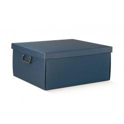 Коробка для хранения синяя, арт. 38511