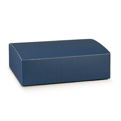 Коробка синяя, на 3 бутылки, арт.38513