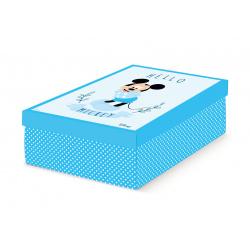 Коробка для хранения голубая, арт.68102C