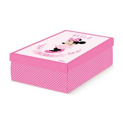 Коробка для хранения игрушек розовая, арт.68110C