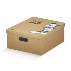 Коробка для хранения игрушек крафт, арт.68123R