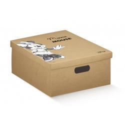 Коробка для хранения игрушек крафт, арт.68131R