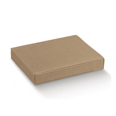 Коробка крафт, плоская, арт.8199