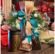 Подарки с чаем и кофе на Новый Год
