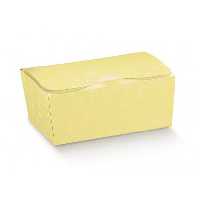 Коробка желтая, шкатулка, арт.36851