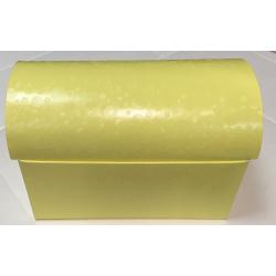 Коробка желтая, сундучок, арт.36858