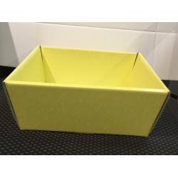 Коробка желтая, лукошко, арт.36893