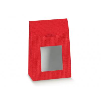 Коробка красная, сумочка, арт.38023