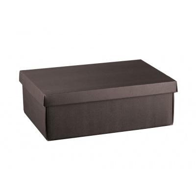 Коробка кофейная, с крышкой, арт.38288