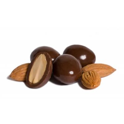 Миндаль в молочном шоколаде 100 гр.