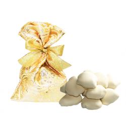 Драже финик в белом шоколаде, в мешочке