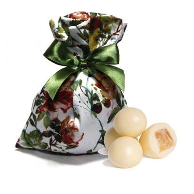 Драже ананас в белом шоколаде