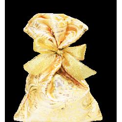Мешочек из золотого жаккарда