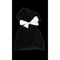 Мешочек черный бархатный