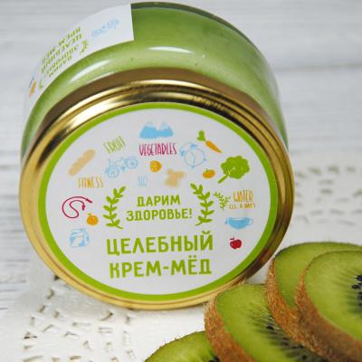 Крем-мед из киви