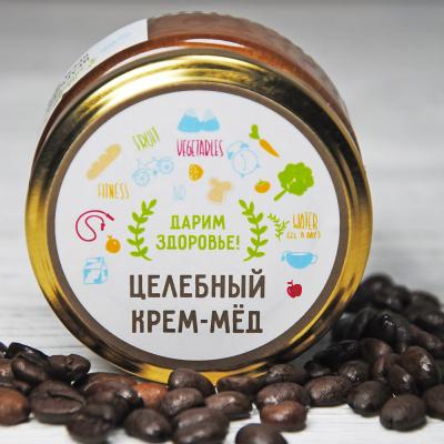Крем-мед с кофе