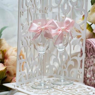 Свадебные бокалы «Розовая мечта»