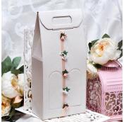 Упаковка для свадебного шампанского