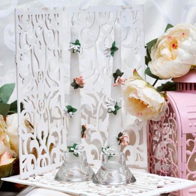 Свадебные свечи «Бутоны роз»