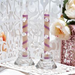 Свадебные свечи «Диагональ»