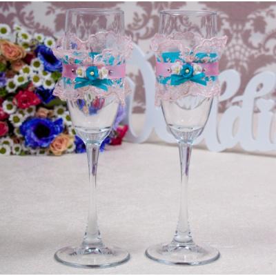 Свадебные бокалы «Грация»