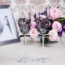 Свадебные бокалы «Изящность»