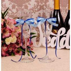 Свадебные бокалы «Небесные»