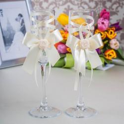 Свадебные бокалы «Крем-брюле»