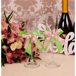Свадебные бокалы «Контраст»