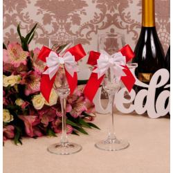 Свадебные бокалы «Радуга»