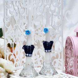 Свадебные свечи «Кружево»
